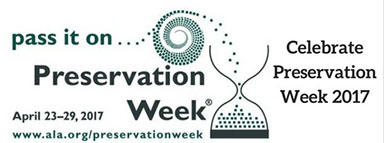 2017 National Preservation Week