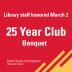 25 year club banquet
