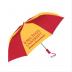 Umbrella cardinal and gold